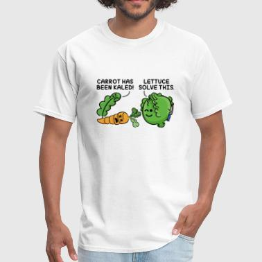 Lettuce Solve This - Men's T-Shirt