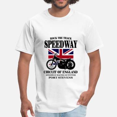 Dirt Track Motorcycle Speedway - Dirt Track Racing - Men's T-Shirt