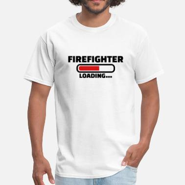 Firefighter Funny Firefighter - Men's T-Shirt