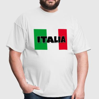 Italia - Flag of Italy - Men's T-Shirt