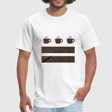 Coffee Flag - Men's T-Shirt