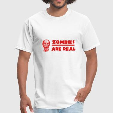 Rest In Peace Zombies - Men's T-Shirt