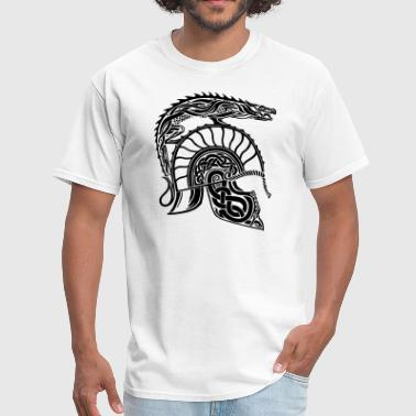 Children of Hurin - Dragon Helmet Art - Men's T-Shirt