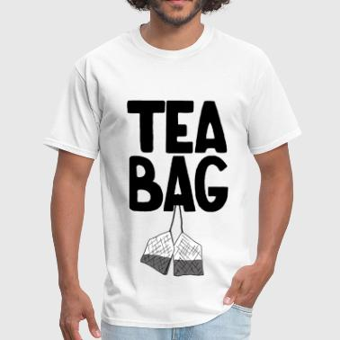 Bdsm Porn Tea Bag - Men's T-Shirt