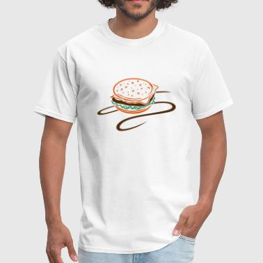Big Cheese Burger Big burger, hamburger, cheeseburger. - Men's T-Shirt