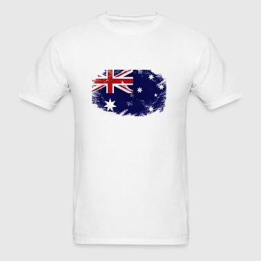 Australia Flag - Men's T-Shirt