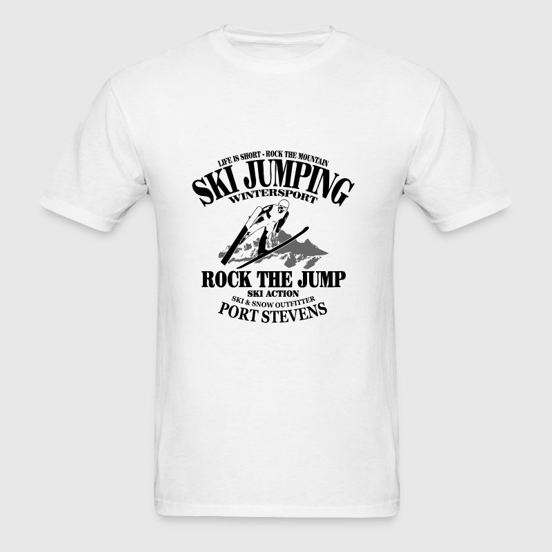 Skijumping - Men's T-Shirt