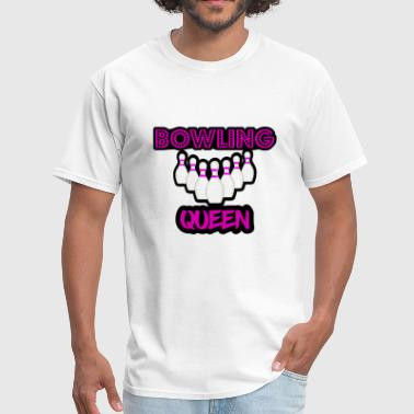 Girly Quotes Bowling Queen Girl Girly - Men's T-Shirt