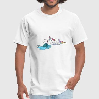 narwhal UNICORN FUNNY FRIENDS GIFT LOVERS - Men's T-Shirt