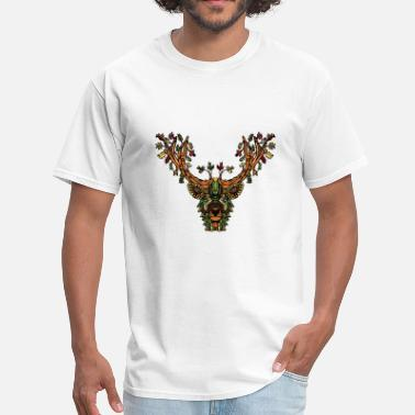 Indian Symbols Forest spirit deer - Men's T-Shirt