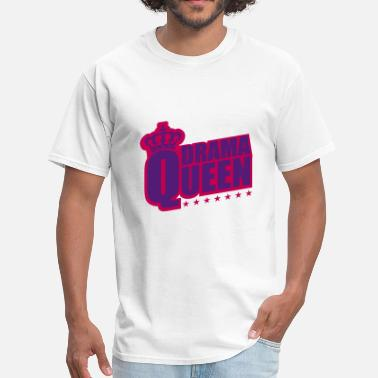 The Bitch star woman drama queen princess female crown pink - Men's T-Shirt