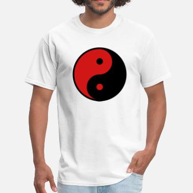 Daoism Yin Yang 2_color - Men's T-Shirt