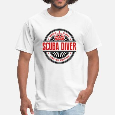 World class scuba diver limited edition - Men's T-Shirt