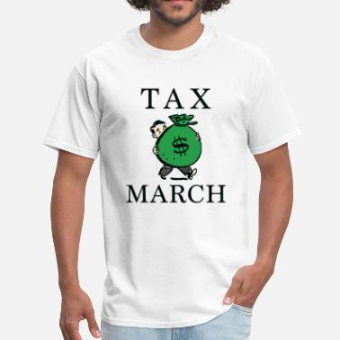 15 Dollar Tax March - Men's T-Shirt