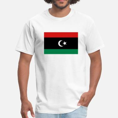 Gaddafi Flag of Libya - Men's T-Shirt