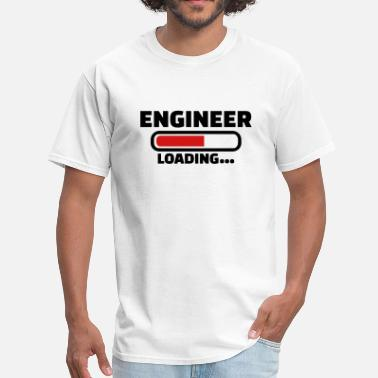 Black Engineer Engineer - Men's T-Shirt