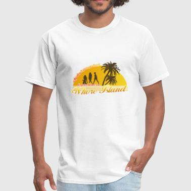 Anchorman Whore Island - Men's T-Shirt