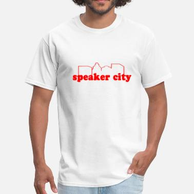 Speaker speaker city - Men's T-Shirt