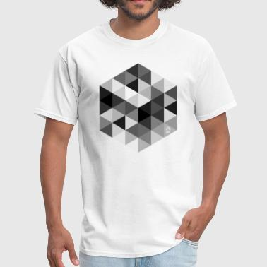 Abstract AD Cube - Men's T-Shirt