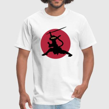 Kung Fu Monkey Ninja Monkey - Men's T-Shirt