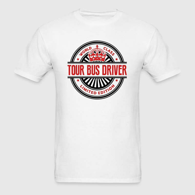 World class tour bus driver limited edit - Men's T-Shirt