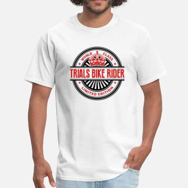 Trial Bike World class trials bike rider limited ed - Men's T-Shirt