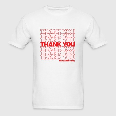 Thank You - Men's T-Shirt
