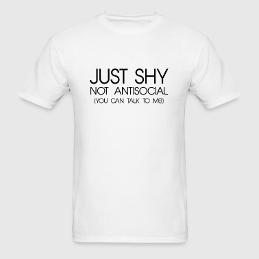 Just Shy - Men's T-Shirt