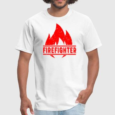 Firefighter - Fire Dept Firefighter Firefighting Real Men Women Fire Dept. - Men's T-Shirt