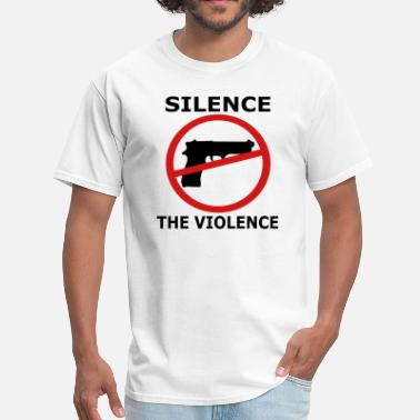 Gun Law Silence the Violence Gun Control Gun Laws - Men's T-Shirt