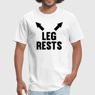 Leg Rests - Men's T-Shirt