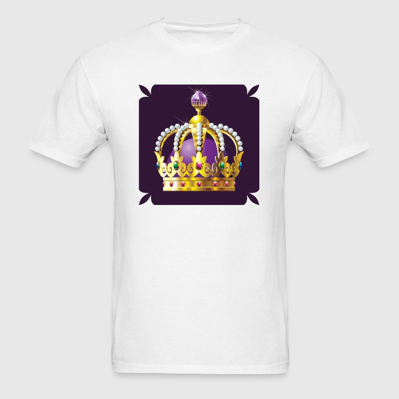 Crowns - Royalty - Royal - King - Queen - Men's T-Shirt