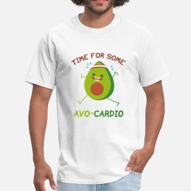 Cardio Time For Some Avo-Cardio - Men's T-Shirt