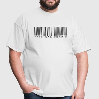 Barcode physical therapist - Men's T-Shirt