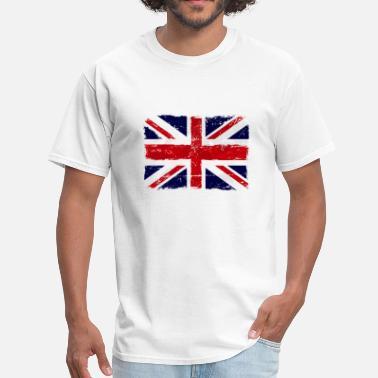 01a2bf06 Uk Union Jack - UK Flag - Men's T-Shirt