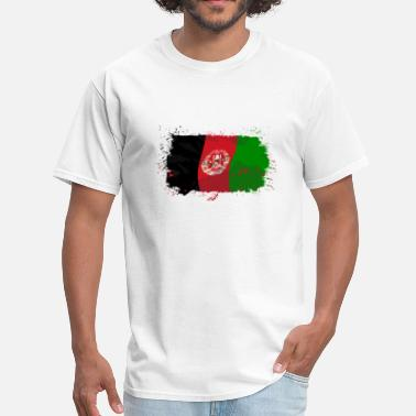 Mazar Sharif Afganistan Flag Logo - Men's T-Shirt
