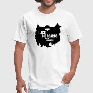 Cool Beard Clothing Big Beards Cool T-Shirt Tee Top Shirt - Men's T-Shirt