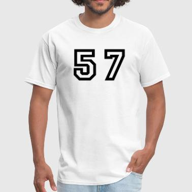 Fifty Seven Number - 57 - Fifty Seven - Men's T-Shirt