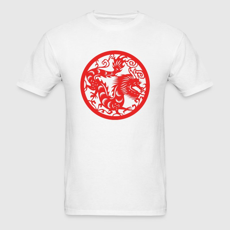 Chinese New Years - Zodiac - Year of the Dragon - Men's T-Shirt
