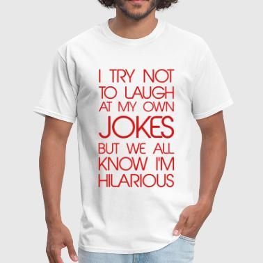 Bromance Jokes Jokes - Men's T-Shirt