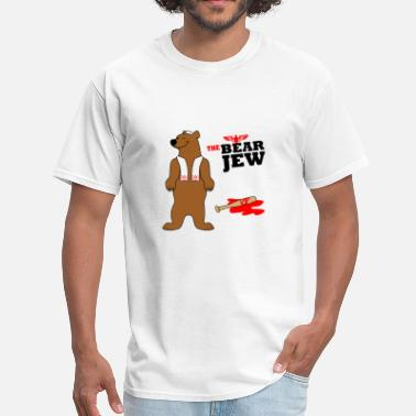 Jew The Bear Jew - Men's T-Shirt