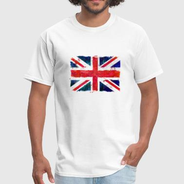 Vintage Union Jack Union Jack - UK Flag - Men's T-Shirt