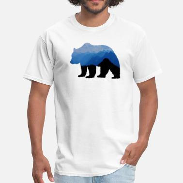Brown Bear National Park Bear - Men's T-Shirt