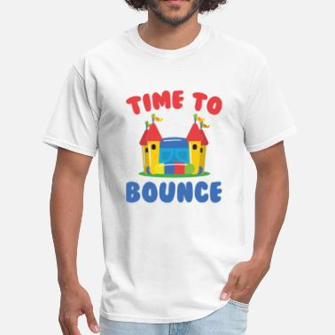 Bounce Time To Bounce - Men's T-Shirt