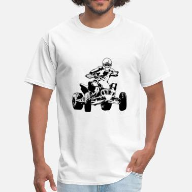 Atv Racing ATV - Quad -  Motocross - Men's T-Shirt