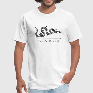 1791 Join or Die - Men's T-Shirt