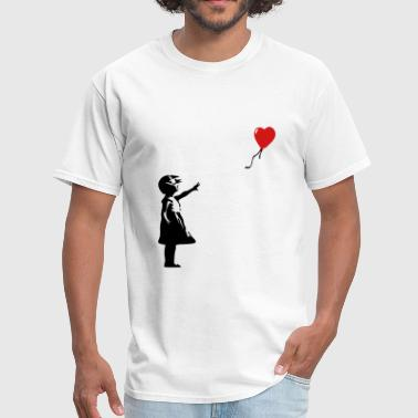 Banksy KCCO - Balloon Girl Banksy - Men's T-Shirt
