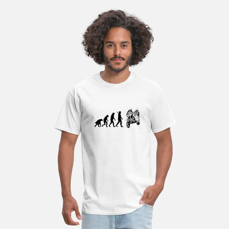 Motocross T-Shirts - Motocross - Sidecarcross - Men's T-Shirt white