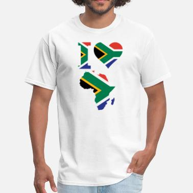 South Africa Designs Love Africa South Africa - Men's T-Shirt