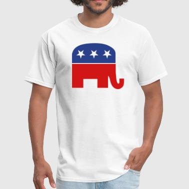 Republican Republican elephant - Men's T-Shirt